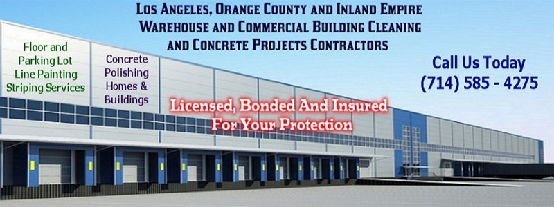 Los Angeles County Area Warehouse Cleaning Company